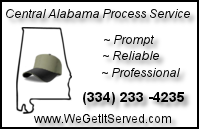 Central Alabama Process Service